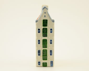 Vintage Amsterdam Prinsengracht, Poly Delft, Holland, Painted by Hand.