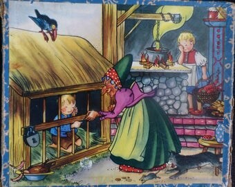 Hansel and Gretel /Puss in Boots  - Kolibri Puzzle
