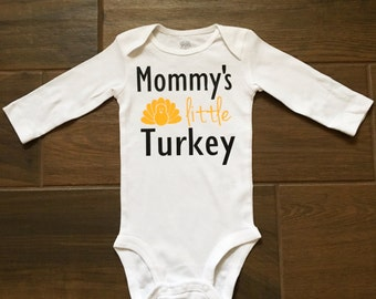 Thanksgiving onesie, baby thanksgiving outfit, thanksgiving outfit, first thanksgiving, little turkey, turkey knee patches.