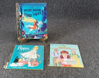 Vintage Little Golden Books Lot Of 3 C. 1970s