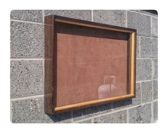 Stained Box Frame, Finished Box Frame, Square Wood Frames, Wood Shadow Box, Hanging Frames, Desktop Frames, Custom Wood Frames,
