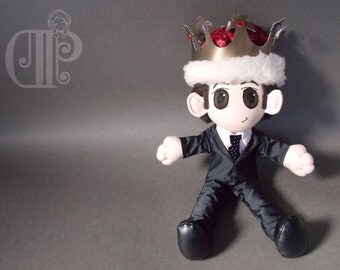 Jim Moriarty BBC Sherlock Doll Plushie Toy Andrew Scott
