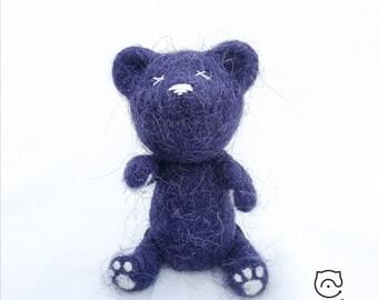 """Babu """"Shaggy"""". Needle felted. 100% wool. Nice gift!"""