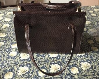 A vintage hand bag regent street
