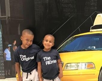 Hermano juego camisas   Gran hermano   El hermano pequeño   Embroma la ropa   El Original   El Remix   Tes de coordinación   Tapas para niños pequeños   Kaans