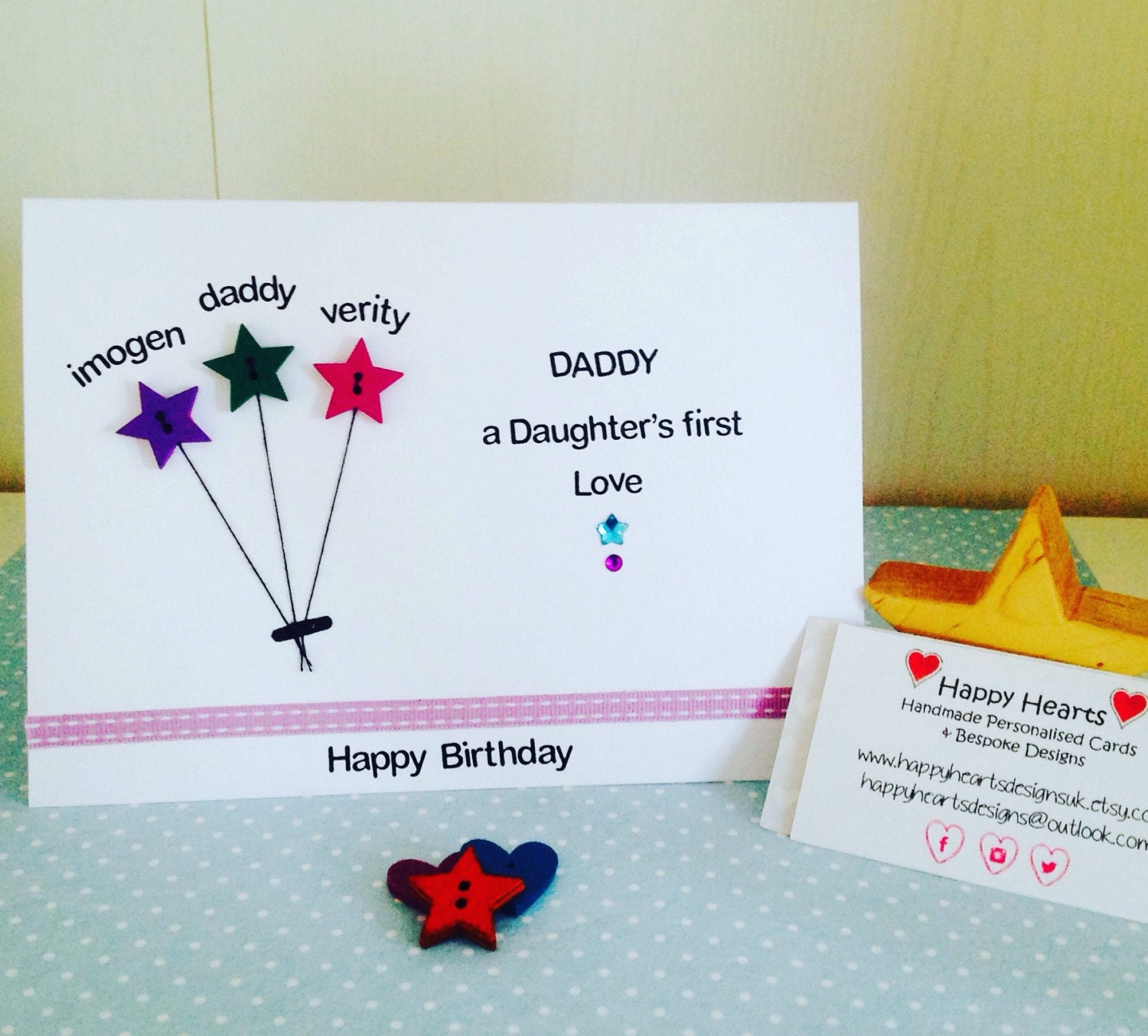 Birthday Card For Daddy – gangcraft