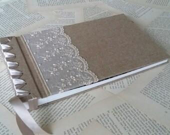 Elegant handmade photo album