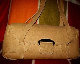 A vintage Maison Mollerus ladies leather handbag