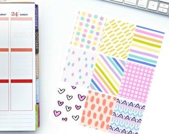 Happy Times Full Box Planner Stickers! Perfect for your Erin Condren Life Planner, calendar, Paper Plum, Filofax!