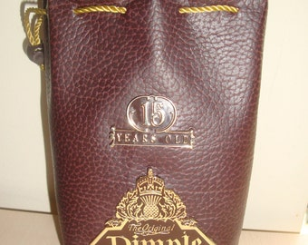 Collectible DIMPLE Scotch Whisky 15 Years Old Pouch / Case
