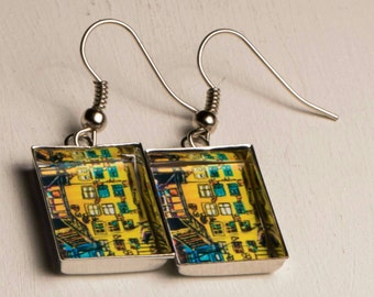 earring Rectangle Collection symbiosis