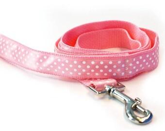 Pretty in Pink Dog Leash