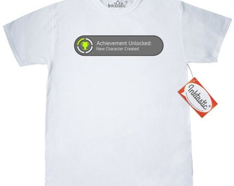 Achievement Unlocked: New Character Created T-Shirt by Inktastic