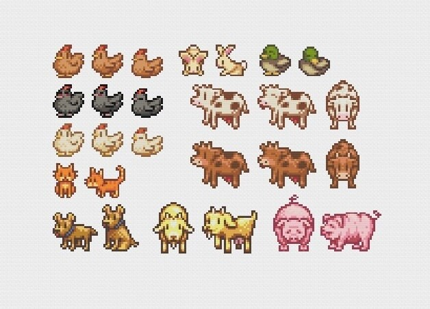 how to call animals in stardew