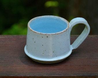 Stoneware ceramic espresso mug
