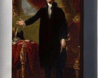 Canvas 24x36; President George Washington Gilbert Stuart, 1797