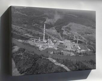 Canvas 16x24; Gorgas Electric Generating Plant Loc Habs 180273