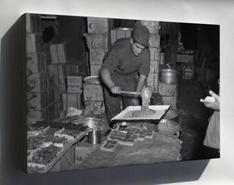 Canvas 16x24; Cook 5Th Marine Regiment Thanksgiving Korean War Korea