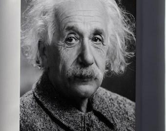 Canvas 16x24; Albert Einstein Head