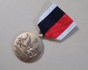 US Navy Occupation Services Medal