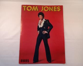 1978 Tom Jones Concert Program Booklet Hairy Chest and All!