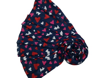 Beautiful Hearts Confetti Scarf