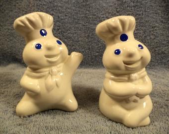 Pillsbury Dough Boy Salt And Pepper Shaker Set