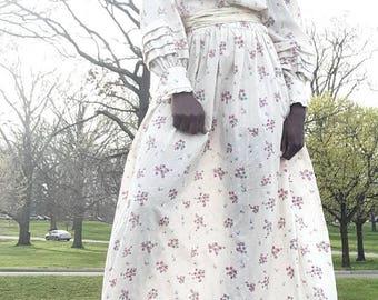 Vintage maxi floral prairie dress