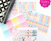 K36 Donut Delight FULL WEEKLY (FWK).  Perfect for the Erin Condren Life Planner!!!