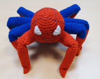 Spiderman Amigurumi Crochet Pattern PDF, Spiderman Crochet Pattern, Superhero Costume, Amigurumi Superhero Crochet, Geeky Gifts, Super