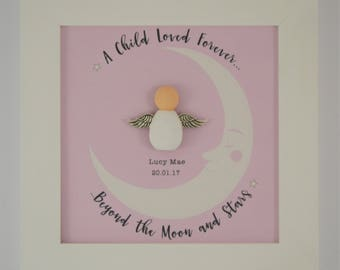 Baby Loss Memorial Frame. Angel Baby Keepsake. Pregnancy Loss Gift
