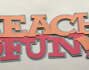 Beach Fun Die Cut