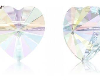 Swarovski 5742 - Heart Crystal Bead