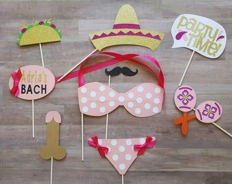Mexico Bachelorette Photo Booth Props