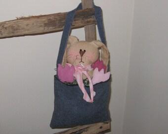 Bunny Decoration - Easter Decoration - Spring - Peg Hanging
