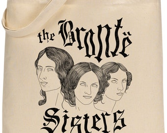 I miss the BRONTE SISTERS tote bag