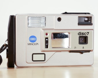 Minolta Disc-7 Disc Film Camera - Great Condition!