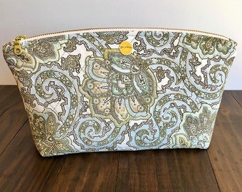 Quilted Makeup Bag Pattern