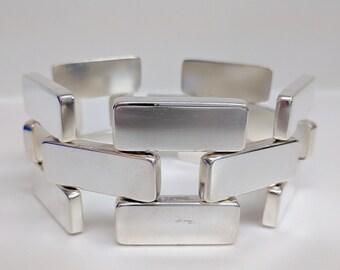 Large Georg Jensen Bracelet #194, Astrid Fog