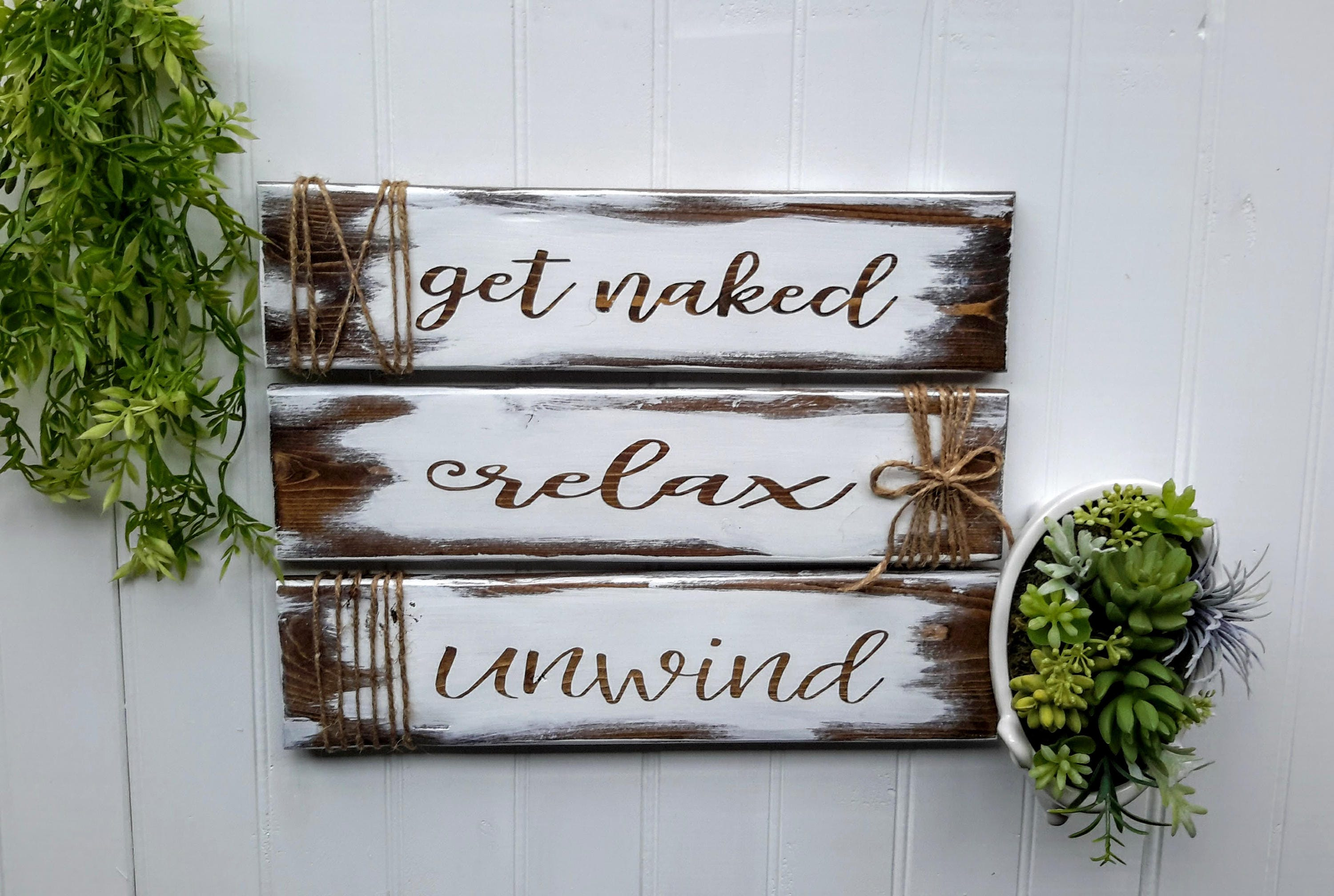 Relax Soak Unwind Bathroom Wall Decor Relax Soak Unwind Sign Bathroom Decor Bathroom Sign Relax Sign