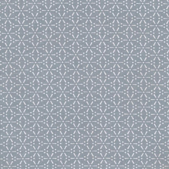 Au maison sakura dusty blue oilcloth blaugrau coated for Au maison oilcloth uk