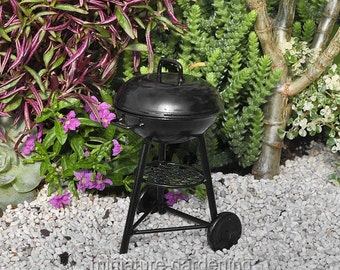 BBQ Grill for Miniature Garden, Fairy Garden