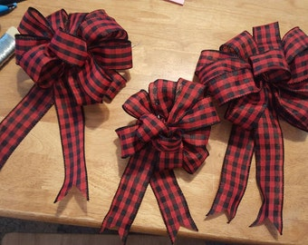 Wired Ribbon Bows