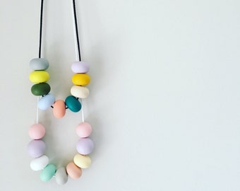 Silicone Abacus Necklace. Please state preference at check out.