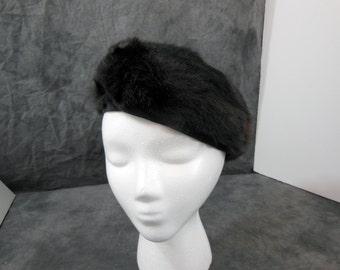 Vintage Fur Hat / Cap / Tam