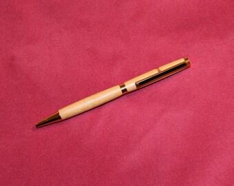 Handmade Olive Wood Twist Pen