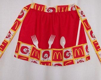 McDonald's childs apron