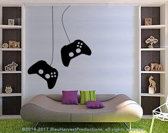 Game Controller Wall Decal : Xbox Gamer