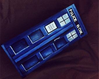 Tardis Time Lord Doctor Who Jewelry Box Keepsake Box Jewelry Box Ring Bearer Pillow Box