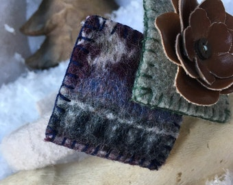 Headband Felted Wool Accent